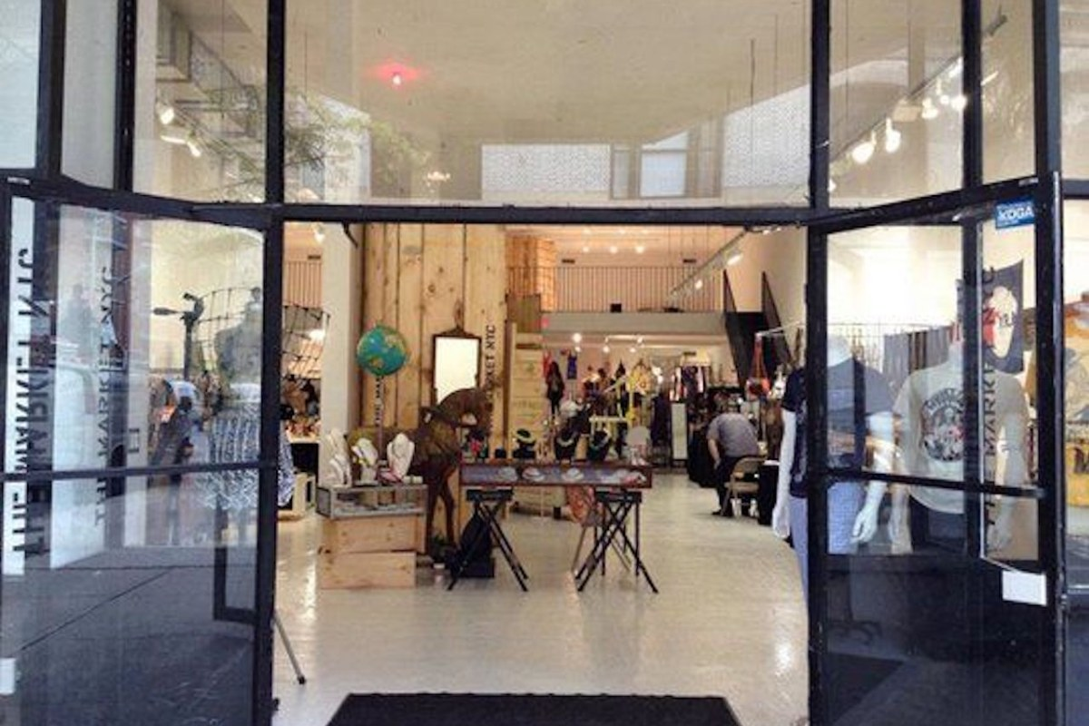 Storefront listing Pop-Up Space in Greenwich Village in Greenwich Village, New York, United States.